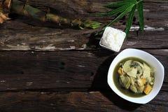 Thaifood för soppa för bambufors nordostligt äktt original Royaltyfri Bild