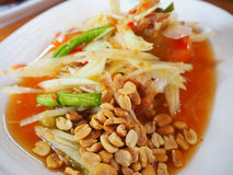Thaifood. It is Thaifood name Somtam stock photo