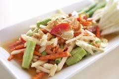 Thaifood picante do vegetal Foto de Stock
