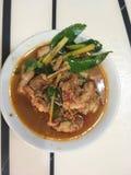 Thaifood royaltyfri foto