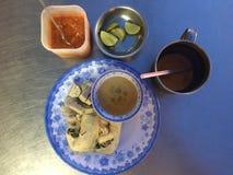 Thaifoodfusie Stock Fotografie