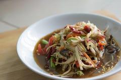 Thailändsk traditionell eller thailändsk mat royaltyfria foton