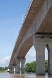 Thailändisch-Lao-Bündnis-Brücke Stockbild