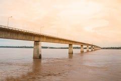 Thailändisch-Laos-Freundschafts-Brücke Lizenzfreie Stockfotografie