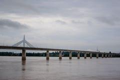 Thailändisch-Laos-Freundschafts-Brücke Stockfotos
