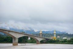 Thailändisch-Laos-Freundschafts-Brücke Lizenzfreie Stockbilder