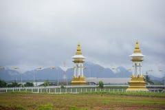 Thailändisch-Laos-Freundschafts-Brücke Lizenzfreies Stockbild