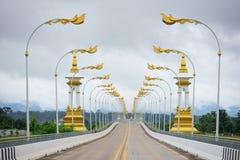 Thailändisch-Laos-Freundschafts-Brücke Lizenzfreies Stockfoto