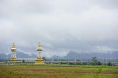 Thailändisch-Laos-Freundschafts-Brücke Stockbilder