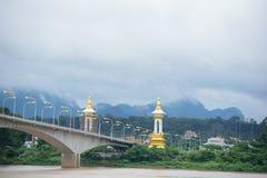 Thailändisch-Laos-Freundschafts-Brücke Lizenzfreie Stockfotos