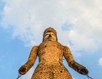 Thailändische alte Buddha-Statue Stockfotos