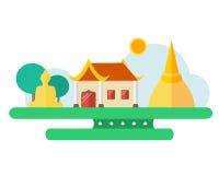 Thailändische Ansicht Stockbilder