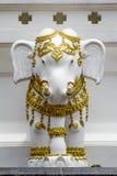 Thailändische Art der Elefantstatue Lizenzfreies Stockfoto