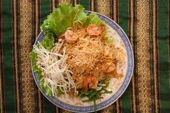 Thailändische Artnudeln Stockbild