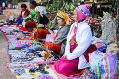 Thailändische Bergvolkleute Lizenzfreie Stockbilder
