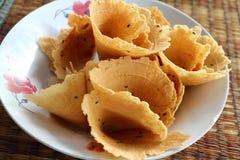 Thailändische Bonbons vom Reisprodukt Lizenzfreie Stockfotografie