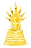 Thailändische Buddha-Bilder während der Wochentage Lizenzfreies Stockfoto