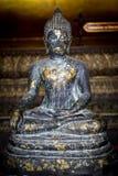 Thailändische Buddha-Statue von einem Bangkok-Tempel, Thailand stockbild
