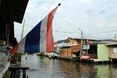 Thailändische Flagge Stockfoto