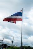Thailändische Flagge Stockfotos