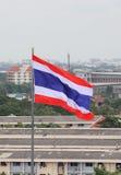 THAILÄNDISCHE Flagge in der Schule in Thailand Stockbilder