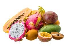 Thailändische Früchte Lizenzfreies Stockfoto