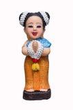 Thailändische Frauen der Marionette Lizenzfreie Stockfotos