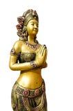 Thailändische Frauenstatue Stockbild