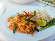 Thailändische Fried Noodles-Chips stockbilder