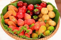 Thailändische Frucht Dessert02 lizenzfreie stockfotos