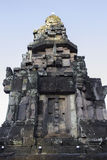 Thailändische historische Gebäude im thailändischen Tempel Stockfoto