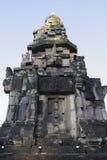 Thailändische historische Gebäude im thailändischen Tempel Stockbild