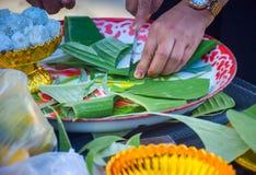 thailändische Hochzeitssüßigkeit Lizenzfreie Stockbilder