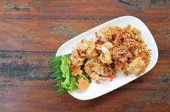 Thailändische köstliche Meeresfrüchte Lizenzfreie Stockbilder