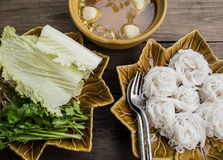Thailändische Küche Lizenzfreie Stockfotos