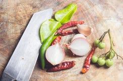 Thailändische Küchebestandteile Stockbilder