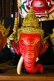 Thailändische khon Maske Lizenzfreies Stockfoto