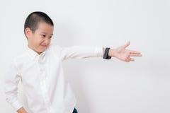 Thailändische Kinder-Reihe stockfotografie