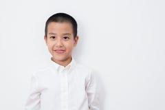 Thailändische Kinder-Reihe stockfoto