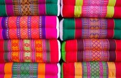 Thailändische Kissen Stockbild