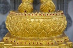 Thailändische Kunst Buddha-Basis Lizenzfreie Stockfotos