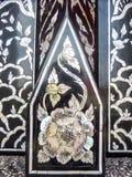 Thailändische Kunst, Perlenkunst Stockfotos