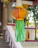 Thailändische Lanna-Laterne lizenzfreies stockfoto