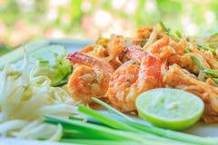 Thailändische Lebensmittelauflage thailändisch Lizenzfreie Stockfotografie