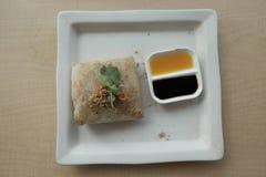 Thailändische Lebensmittelteigwaren Stockfotografie