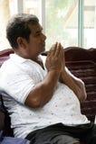 Thailändische Leute verbinden mit Todestag des Verdienstes 100 oder totes Ritual 100 Lizenzfreies Stockfoto