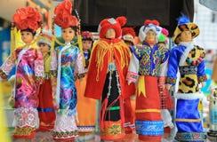 Thailändische lustige Puppen Lizenzfreie Stockfotografie