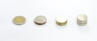 Thailändische Münze Stockfoto