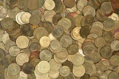 Thailändische Münzen Lizenzfreies Stockfoto