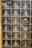 Thailändische Malerei im Tempel Lizenzfreie Stockfotografie